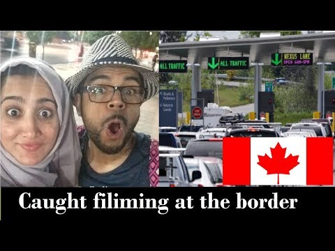 US CANADA BORDER CROSSING