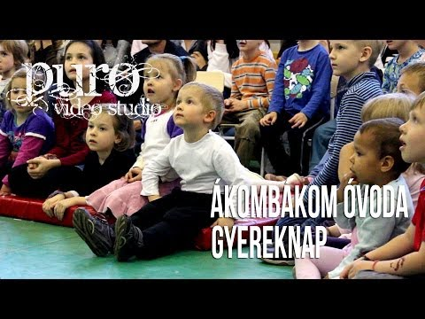 Ákombákom Óvoda Budapest gyereknap összefoglaló