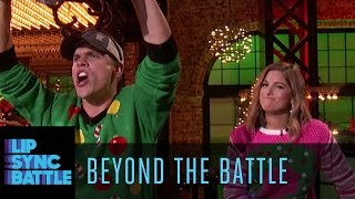 Beyond the Battle with Cassadee Pope & Dustin Lynch | Lip Sync Battle Country Holidays