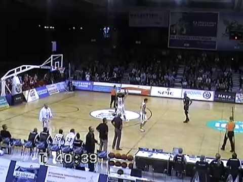 Haakim Johnson #15 (Dark Jersey) vs. Karlsruhe (1G Sports)