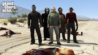 ZOMBIE APOCALYPSE ON HALLOWEEN!! (GTA 5 Mods)
