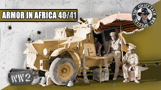 Tanks of the Early North-Africa Campaigns, by The Chieftain - WW2 Special