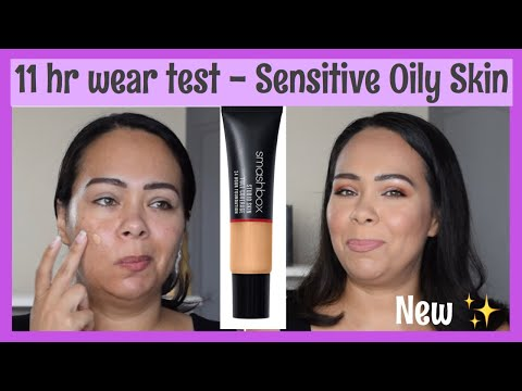 11 hr wear test | SMASHBOX Studio Skin Full Coverage 24 Hour Foundation | Reseña thumbnail