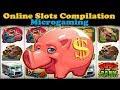Free Online Slots Compilation - Microgaming Bonus Compilation