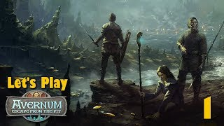 INTO THE ABYSS! - Let's Play AVERNUM: ESCAPE FROM THE PIT Part 1