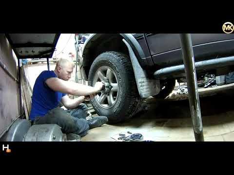 устранение люфта передних колес ступиц Опель Фронтера А 1995 года
