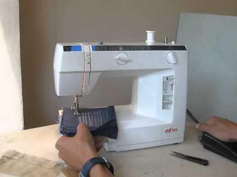 Sewing Machine Швейная машина Elna 40 підкладка джинс YouTube Simple Elna 2004 Sewing Machine Price