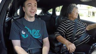 Grandma Rowing Gears! Driving My Focus ST