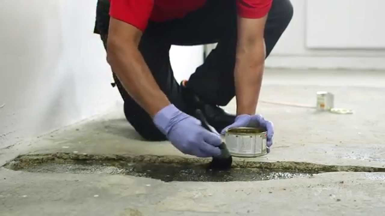 How To Repair A Hole In Concrete Floor Watco