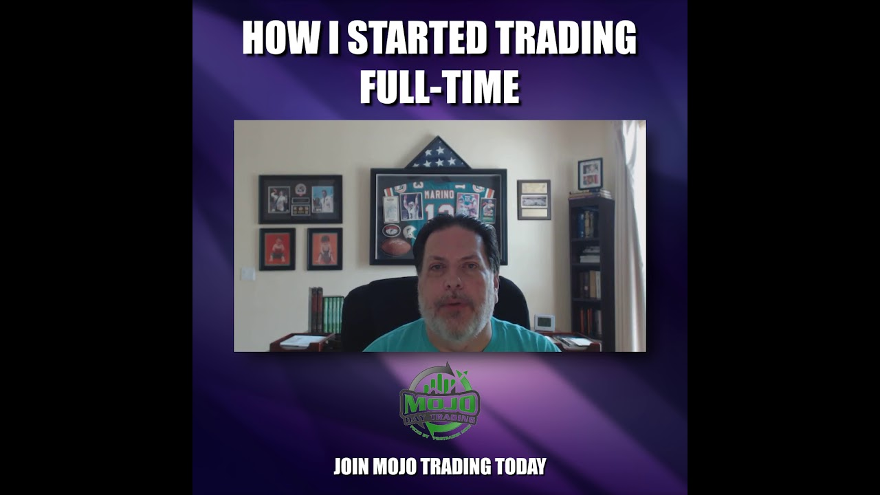How @ProTraderAlan started trading full time