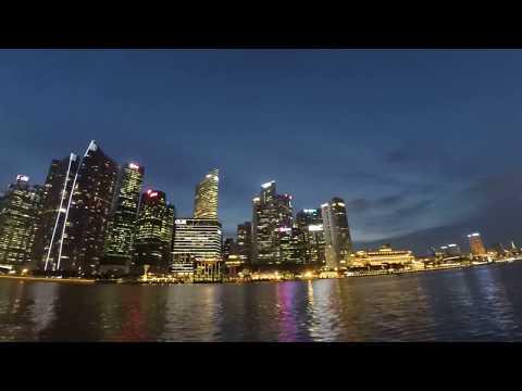 Singapore River Cruise timelapse