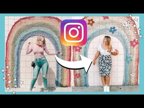 Recreating ~trendy~ LA Instagram Photos (as A Size 14)