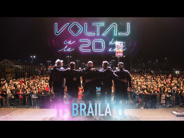VOLTAJ - CA LA 20 DE ANI TOUR @BRAILA