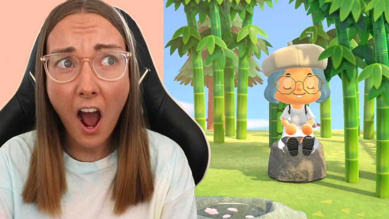 I Built A Zen Garden But I M Not Feeling Very Zen Animal Crossing 8 Youtube