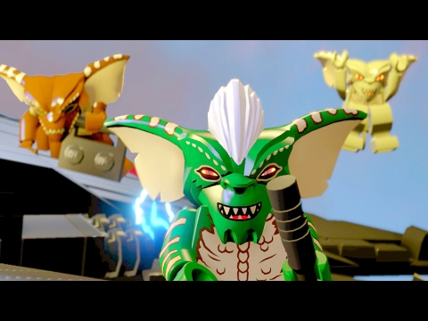 LEGO Dimensions The Lego Batman Movie Gremlins Attack The Bat Wings Engines Twilight Zone
