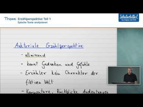 Deutsch Erzählsituationen: Epik, die Typologie nach Franz K. Stanzel | Deutschиз YouTube · Длительность: 2 мин19 с