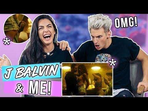 Boyfriend REACTS to ME with ANOTHER GUY in J BALVIN Video!