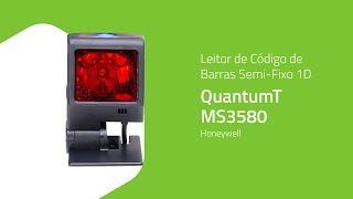 Leitor de Código de Barras Semi-Fixo 1D QuantumT MS3580 - Honeywell - ZIP Automação
