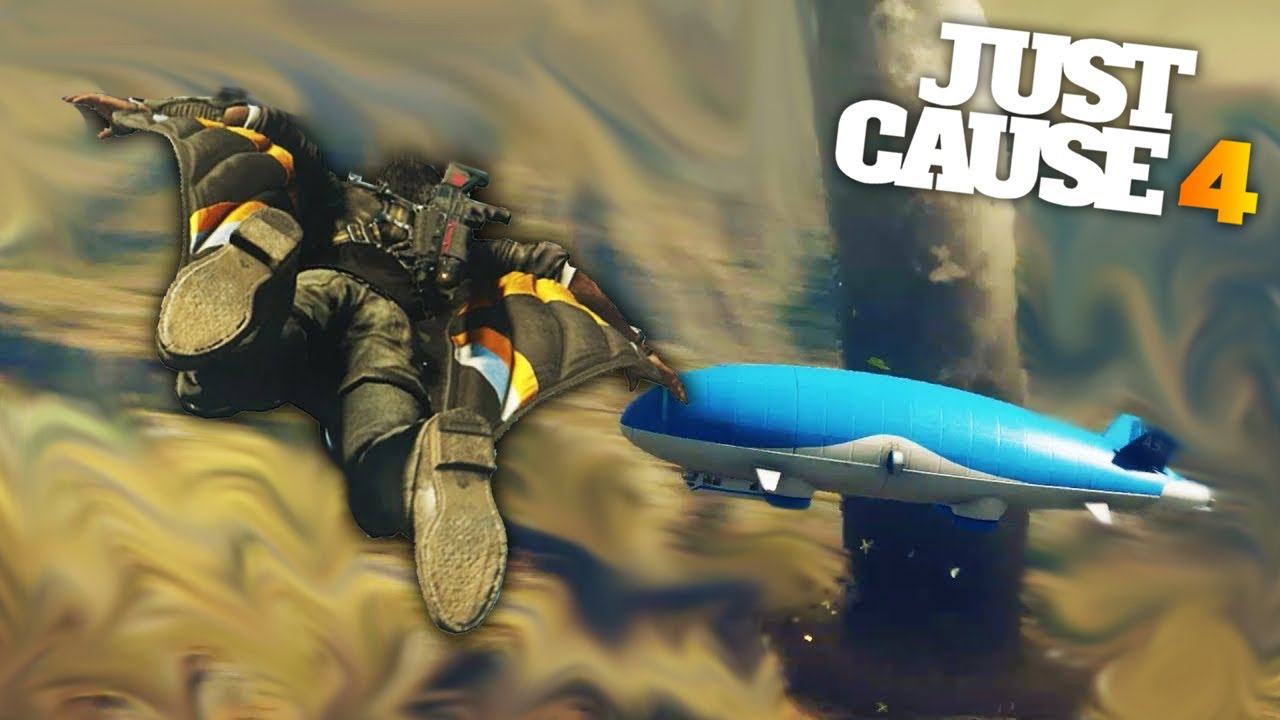 FLYING A MASSIVE AIRSHIP INTO A TORNADO | Just Cause 4 Free Roam