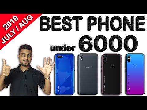 BEST SMARTPHONE UNDER 6000 In INDIA 2019 AUG   4G   3GB Ram   PUBG   Fingerprint Sensor TOP5 BELOW