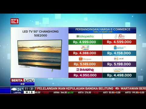 """Perbandingan Harga E-Commerce: Led TV 50"""" Changhong 50E2000"""