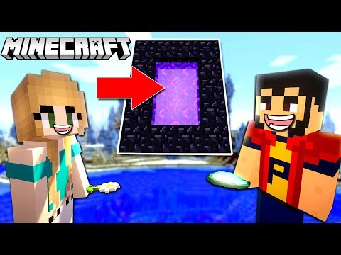 MINECRAFT | PORTAL in CER !