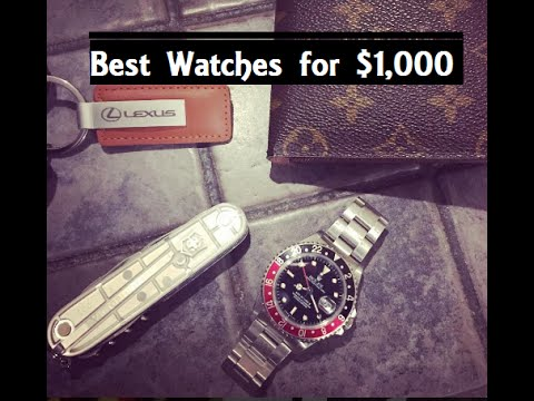 The Best Luxury Watches for $1,000 or Less