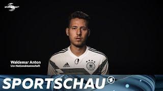 """""""Schweinsteiger war der Beste"""" - Waldemar Anton im Fragenpressing   Sportschau"""