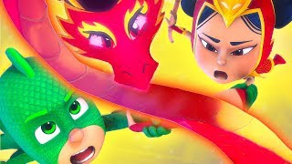 PJ Masks Episode 🔥 Will An Yu save the PJ Masks? ❤️ Best Rescues | Cartoons for Kids