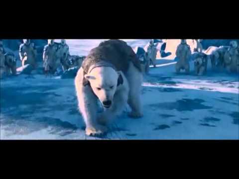 The Golden Compass ....Iorek Byrnison vs Ragnar Sturlusson - Polar Bear Fight (scene )