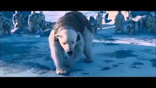 The Golden Compass ....Iorek Byrnison vs Ragnar Sturlusson - Polar Bear Fight (scene )