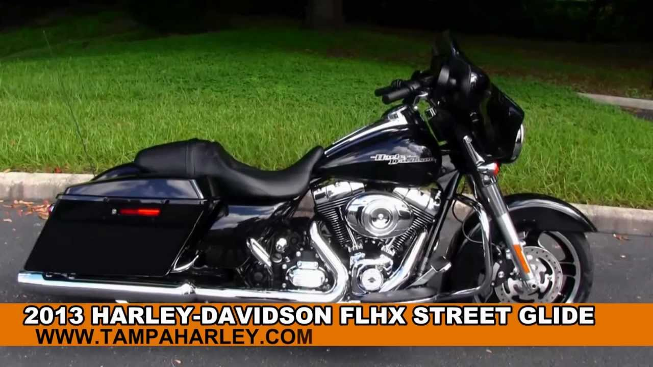 Harley Davidson Flhx Street Glide Touring