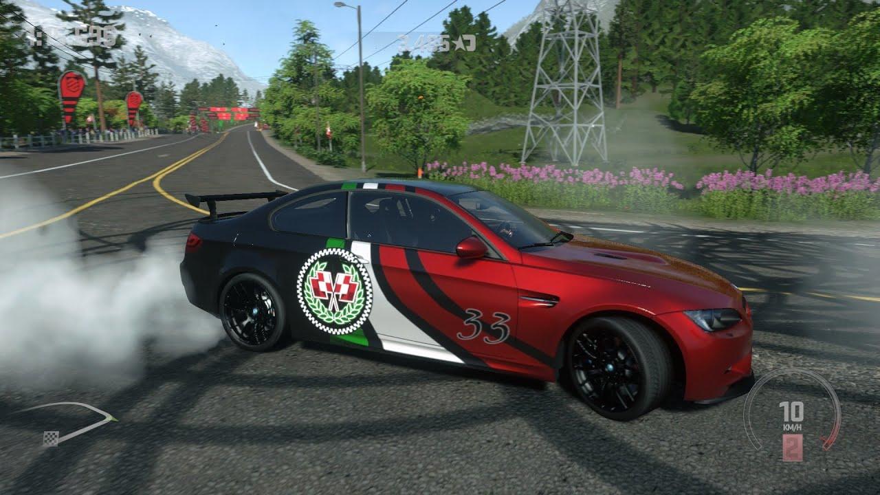DriveClub - BMW M3 GTS - Smoke & Sound - YouTube