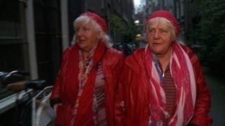 Dutch granny prostitutes celebrate red light life