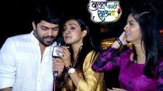 Khulata Kali Khulena TEAM At Zee Marathi Awards 2016 | Abhidnya Bhave, Mayuri Deshmukh, Omprakash