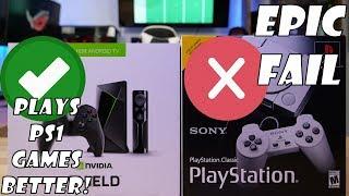 Nvidia's Shield TV RUNS LAPS AROUND SONY'S PS CLASSIC!!!