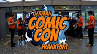 GERMAN COMIC CON FRANKFURT 2017 #GCCFrankfurt