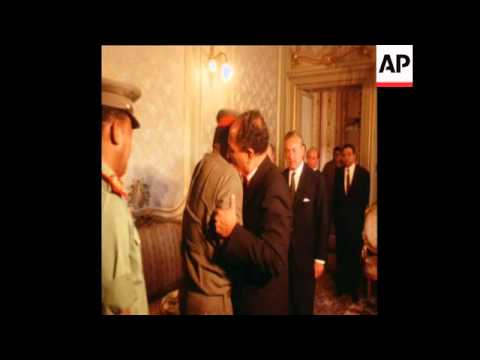 SYND 30/9/70 EMERGENCY MEETING OF THE COUNCIL OF MINISTERS AND THE ARAB SOCIALIST UNION