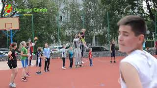 Загальноміський баскетбольний табір у Чернівцях