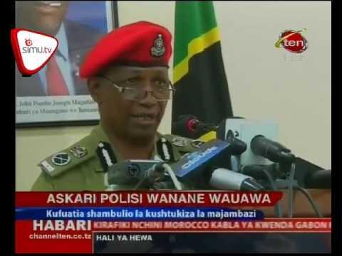 Askari Polisi Nane Wauawa Kwenye Shambulio La Kushtukiza Pwani