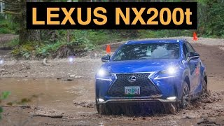 2015 Lexus NX200t F Sport - Off Road And Track Review