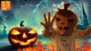 번개 맞은 할로윈 호박의 저주를 받은 잭오랜턴의 전설 🎃 저주를 받으면 호박으로 변한다? Halloween pumpkin legend of jack o' lantern
