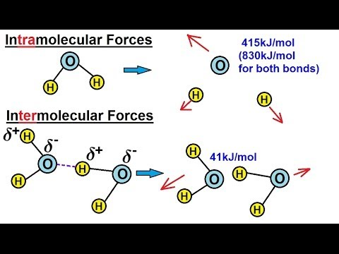 Chemistry - Liquids and Solids (2 of 59) InTERmolecular and InTRAmolecular Forces