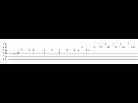 AC/DC - Evil Walks Guitar Tutorial - YouTube