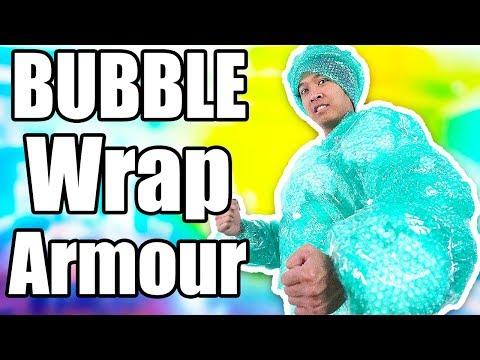 Super Bubble Wrap Armor!!!!!