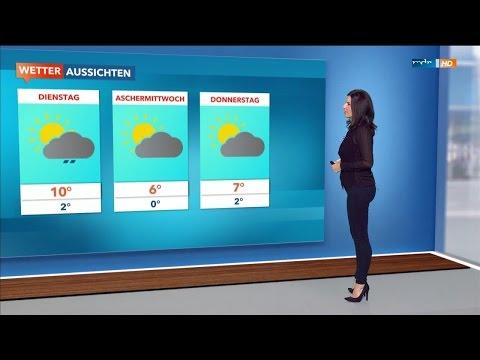 Stephanie Meißner MDR-Wetter 07-02-2016 HD