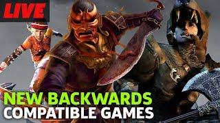 New Original Xbox Backwards Compatible Games