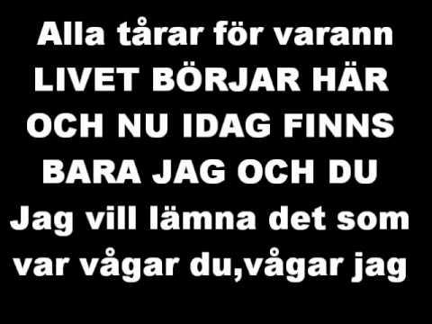 Sanna Nielsen-Vågar du vågar jag lyrcis!