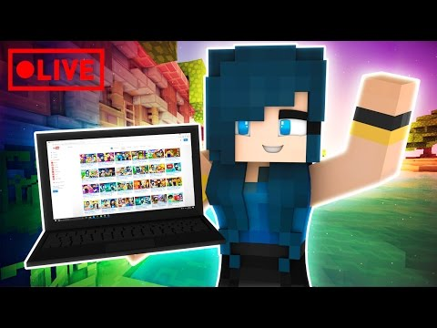 MINECRAFT BEDWARS GET OFF MY BED! | Minecraft Livestream 😍