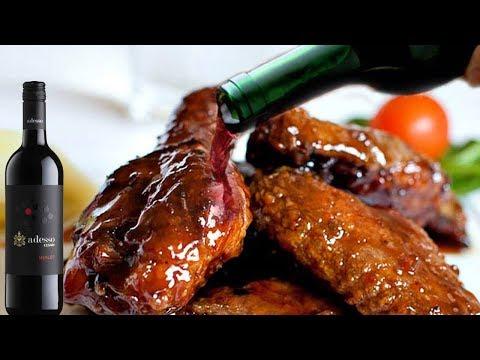 Wine Chicken || How To Prepare Wine Chicken || Chicken Recipe || Live Food